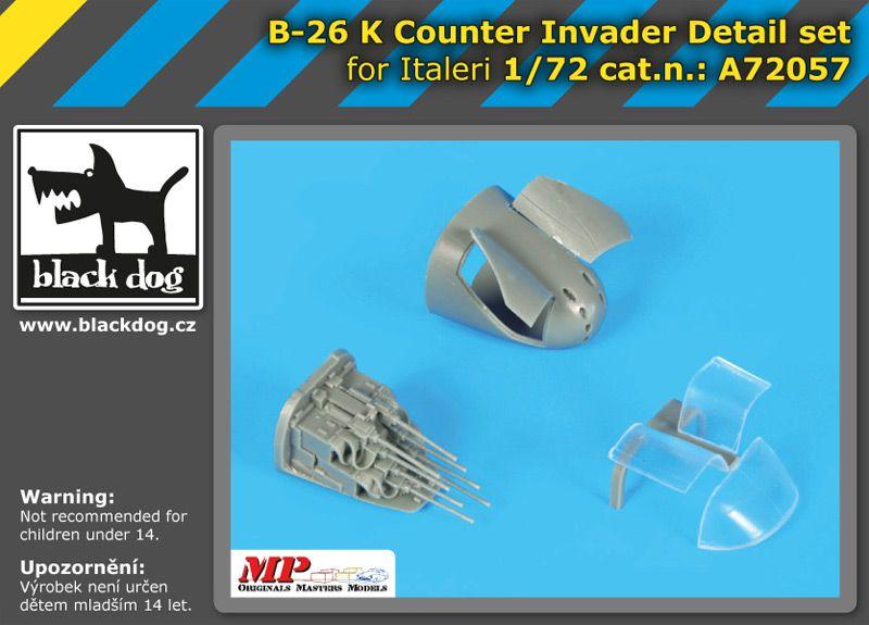 A72057 1/72 B-26 K Counter Invader detail set Blackdog