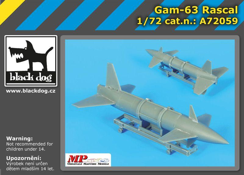 A72059 1/72 AQM -34 Frebeb Blackdog