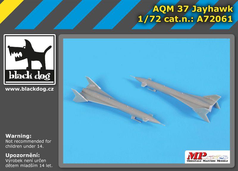A72061 1/72 AQM 37 Jayhawk Blackdog