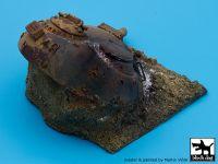 D35001 1/35 Destroyed T55 turret Iraq base Blackdog