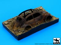 D35002 1/35 Destroyed german car Afrika base Blackdog