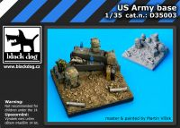 D35003 1/35 US army base