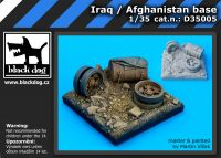 D35005 1/35 Iraq /Afghanistan base Blackdog