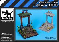 D35006 1/35 Vietnam base Blackdog