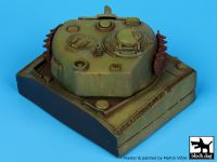 D35010 1/35 Pacific Sherman turret base Blackdog