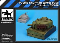 D35010 1/35 Pacific Sherman turret base