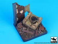 D35020 1/35 Destroyed field kitchen base Blackdog