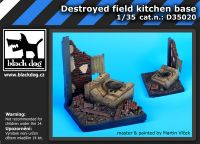 D35020 1/35 Destroyed field kitchen base