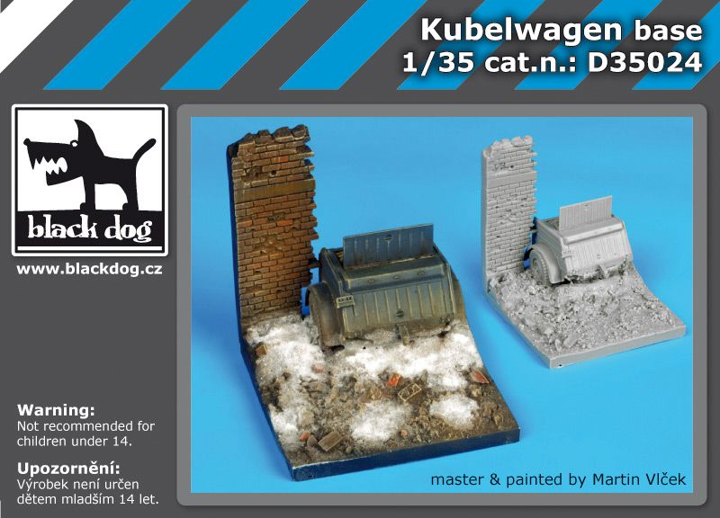 D35024 1/35 Kubelwagen base Blackdog