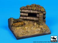 D35031 1/35 Bunker base Blackdog