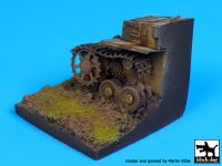 D35037 1/35 Destroyed Pz Kpfw IV base Blackdog