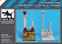D35044 1/35 Columns base Blackdog