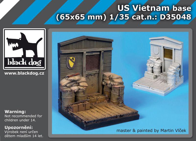 D35048 1/35 US Vietnam base Blackdog