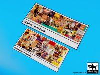 D35049 1/35 Poster pillar Germany-Italy Blackdog