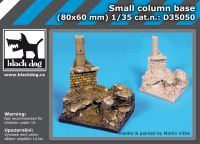 D35050 1/35 Small column base Blackdog