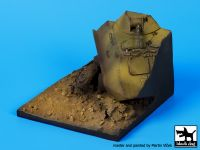 D35054 1/35 Destroyed BTR 60 base Blackdog