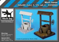 D35060 1/35 Well base Blackdog
