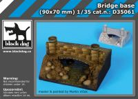 D35061 1/35 Bridge base Blackdog