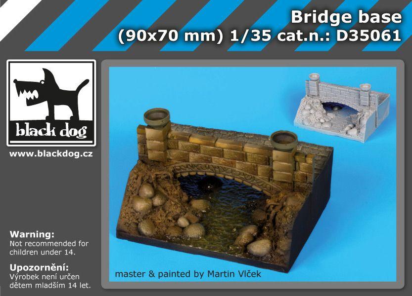 D35061 1/35 Bridge base Blackdog