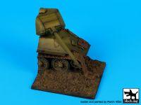 D35064 1/35 Destroyed T 34 base Blackdog