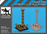 D35065 1/35 Column base