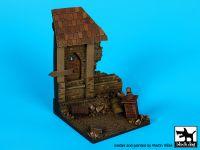 D35066 1/35 Ruined house base Blackdog