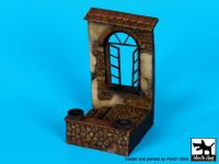 D35067 1/35 House window base Blackdog