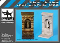 D35068 1/35 Niche with Saint base