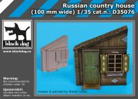 D35076 1/35 Russian country house Blackdog