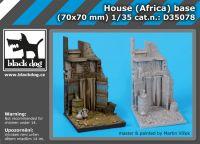 D35078 1/35 House (Africa)base