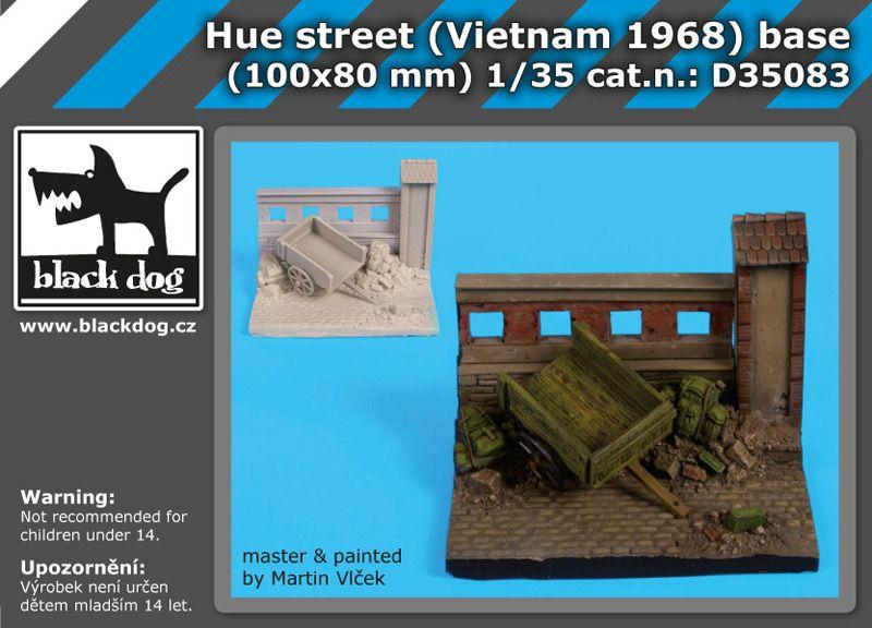 D35083 1/35 Hue street (Vietnam 1968) base Blackdog