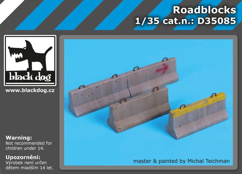 D35085 1/35 Roadblocks Blackdog