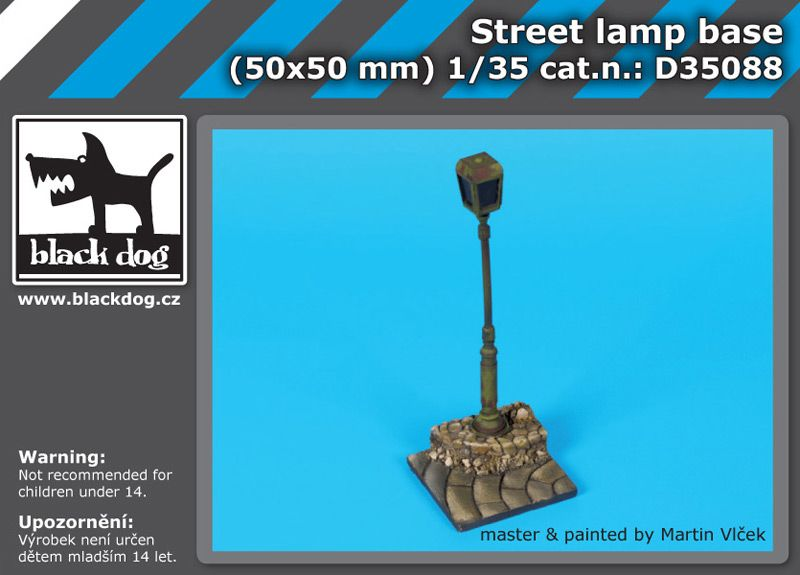 D35088 Street lamp base Blackdog