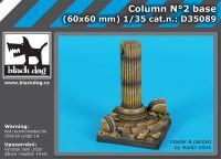 D35089 1/35 Column N°2 base Blackdog