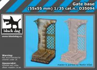 D35094 1/35 Gate base Blackdog