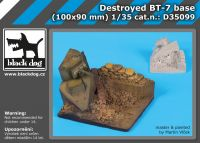 D35099 1/35 Destroyed BT-7 base