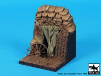 D35100 1/35 Trench entrance WW I base Blackdog