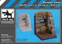 D35102 1/35 Bunker base