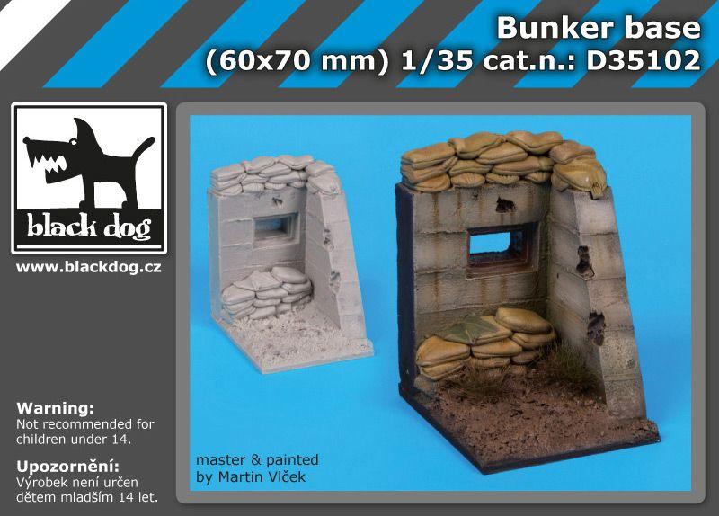 D35102 1/35 Bunker base Blackdog
