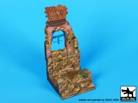 D35103 135 House ruin Italy 1944 base Blackdog