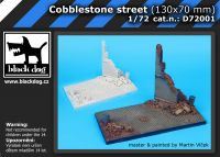 D72001 1/72 Cobblestone street (130x70 mm) Blackdog