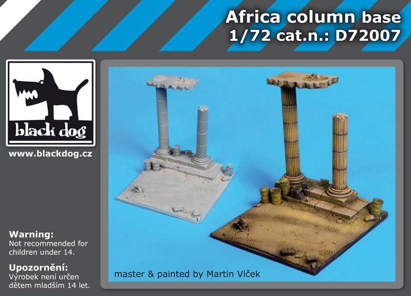 D72007 1/72 Africa column base Blackdog