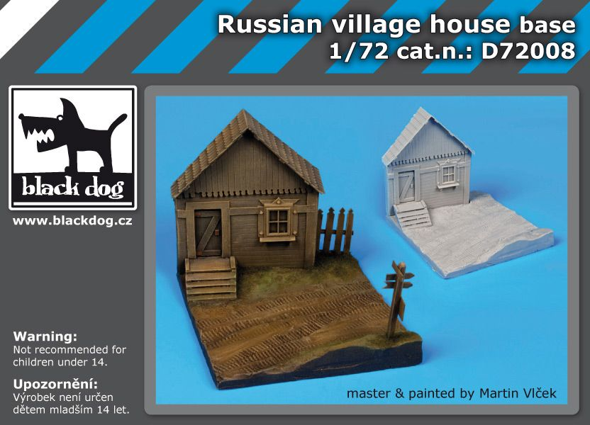 D72008 1/72 Russian house Blackdog