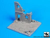 D72009 1/72 House ruin Europe base Blackdog