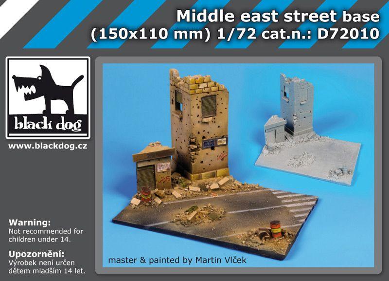 D72010 1/72 Middle east street base Blackdog