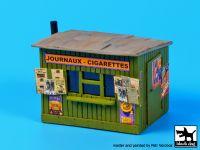 D72015 1/72 Kiosk- tobacco/ news paper Blackdog