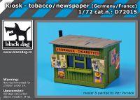 D72015 1/72 Kiosk- tobacco/ news paper