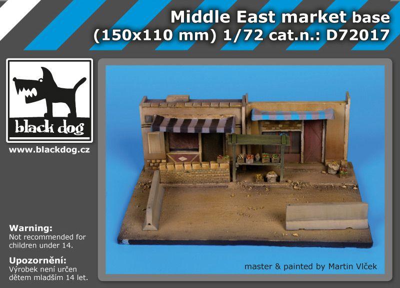 D72017 1/72 Middle east market base Blackdog