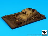 D72019 1/72 Destroyed Panther base Blackdog