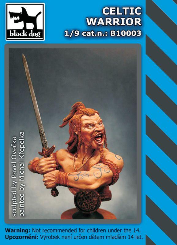 B10003 Celtic warrior Blackdog